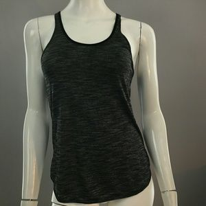 LuluLemon Gray Racer Back Tank Workout Gym
