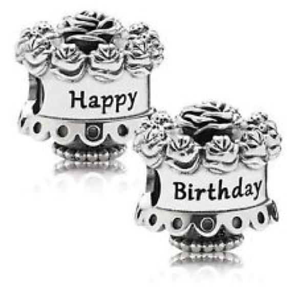 Outstanding Pandora Jewelry Happy Birthday Cake Charm Poshmark Birthday Cards Printable Opercafe Filternl