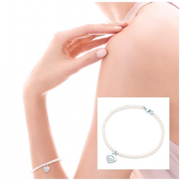 tiffany co return to tiffany mini pearl 925 bracelet. Black Bedroom Furniture Sets. Home Design Ideas