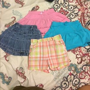 Other - Toddler girls skirts 18/24 months