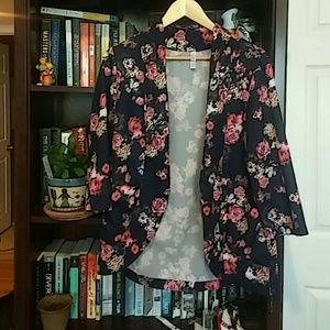 Xhilaration Jackets & Blazers - Cute Floral Blazer