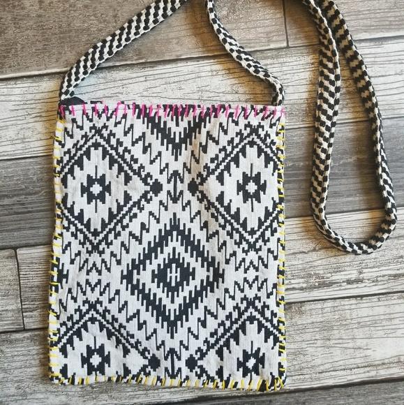 c660a4eeb72c LOVESTITCH cotton blend boho crossbody bag