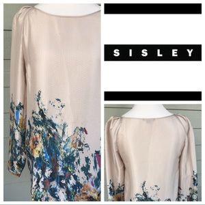 Sisley long-sleeve blouse