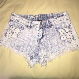 Pants - Majors washed shorts