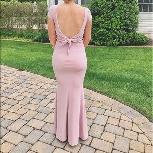 Dresses & Skirts - Low back prom dress