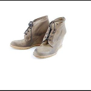 n.d.c. Shoes - N.D.C. Made by Hand, Corine wedge lace up boot