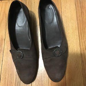 Arche Shoes - Arche brown suede shoes
