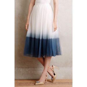 SALE! Anthropologie/Bailey 44 Tulle Skirt- NWT
