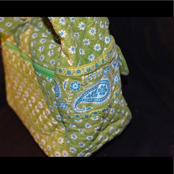 Vera Bradley Vera Bradley Vintage Apple Green Diaper Bag