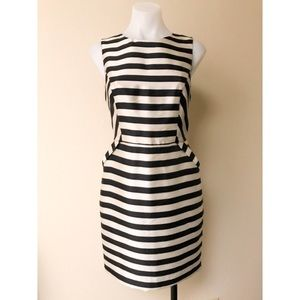 Striped Cocktail Dress w/Pockets