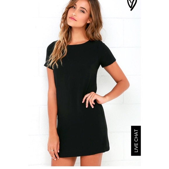 21 off lulu 39 s dresses skirts lulus black shift dress for Online stores like lulus