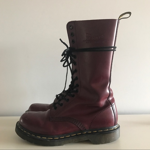 Michael Mccracken Offers Age Fighting Eye And Facial: 14 Eye Doc Marten Combat Boots