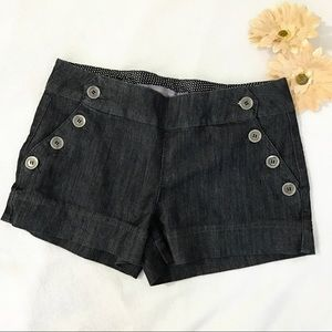 Boom Boom Jeans Pants - •Boom Boom• Black Denim Shorts. Size: 7