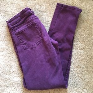 Kut from the Kloth Denim - Kut from the Kloth purple jeans