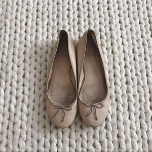J.Crew Camille ballet flats in leather