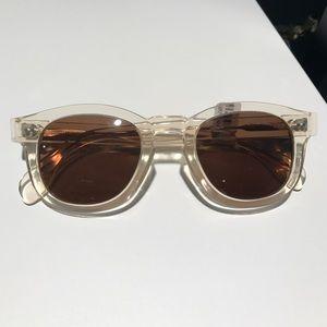 Never been worn Illesteva Murdoch Clear sunglasses