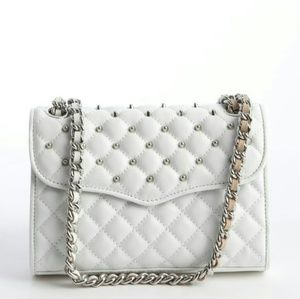 Rebecca Minkoff Studded Quilted Affair mini bag