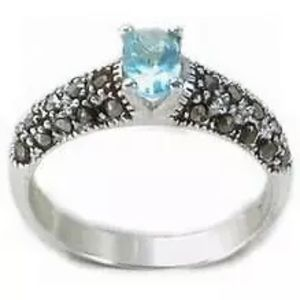 Jewelry - 925 Sterling silver cubic zirconia  modern rings