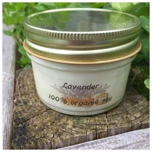 Lavender Organic Soy Candle
