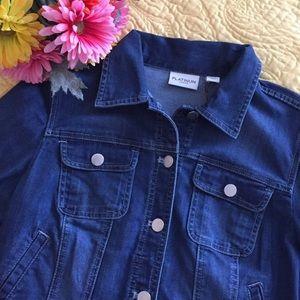 Chico's Jackets & Blazers - Cropped Denim Jacket