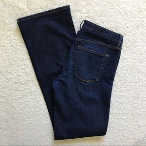 Gap 1969 Perfect Boot Jeans 30 Long Dark Wash