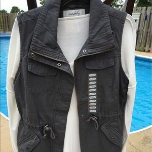 Sebby Jackets & Blazers - Gray vest