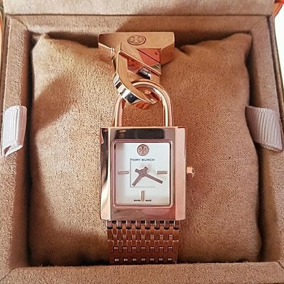 fd3ae422578 Tory Burch Surrey Rose Gold Watch
