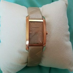 Burberry Women's Nude Leather Watch