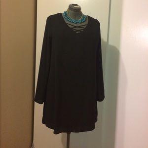 EUC Black mini dress