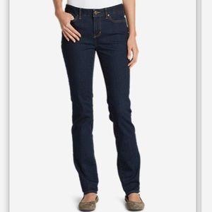 Eddie Bauer Denim - Eddie Bauer black straight-leg jeans