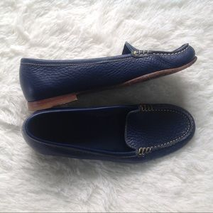 Bally Blue Leather Loafers
