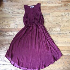Crimson LOFT dress, NWT
