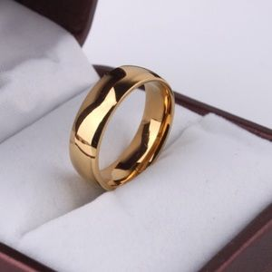 Other - 6mm men's wedding band size 10