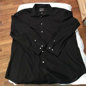 Men's Covington Black Dress Shirt