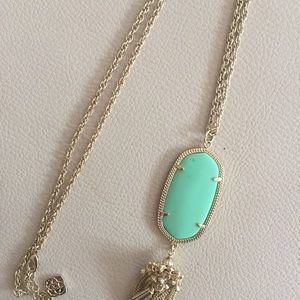 Kendra Scott Rayne Necklace in Mint Magnesite