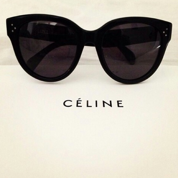 15eae239e59e Celine Accessories - CELINE Audrey Sunglasses Small Black Authentic