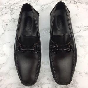 Salvatore Ferragamo Other - Salvatore Ferragamo Brown Leather Parigi Loafers