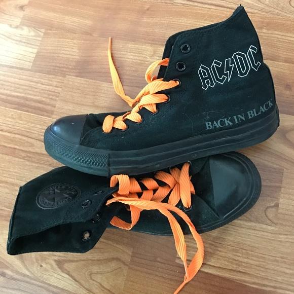 f2d778e67ccd Converse Shoes - AC DC converse size 9 women s 7 men s