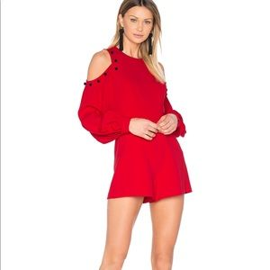 1ab7aade273 Alexis Intimates   Sleepwear - Alexis Asher romper with button trim