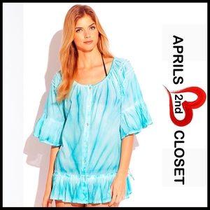 Peppermint Bay Tops - Swim Coverup Tunic Dress