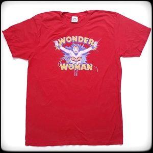 Wonder Woman red tee shirt NWOT