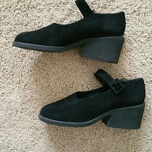 Urban Outfitters Shoes - Dkny marry Jane wedges