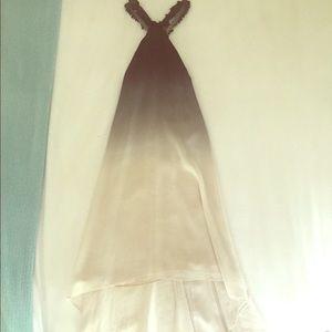 Halston Heritage ombré Formal Dress