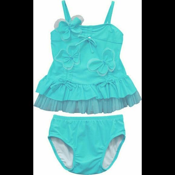 d4c4c17bde Ciao Bella Swim   Nwt Aqua Blue Tankini Suit   Poshmark