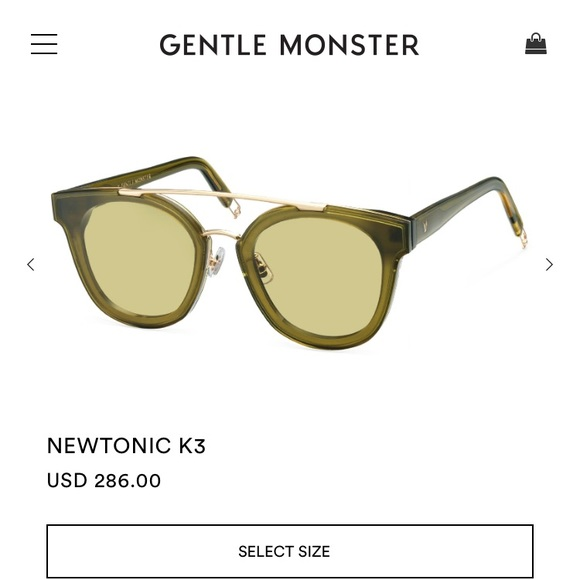 2184f4df1a4 Gentle Monster sunglasses NEWTONIC k3
