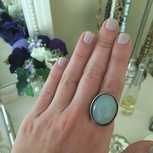 Jewelry - Light Blue Oval Stone Ring