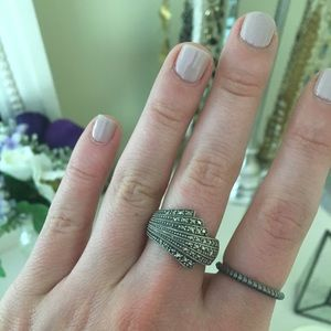Jewelry - Stunning Pave Ring