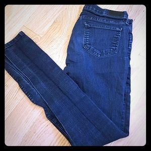 Blue denim Saturday Kate Spade skinny jeans