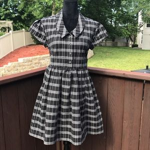LAmade Dresses & Skirts - LAMade Plaid Skater Dress w/Pockets Med