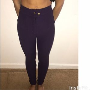 American Apparel High Waisted Skinny Pants
